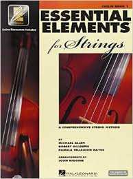essential elements violin1