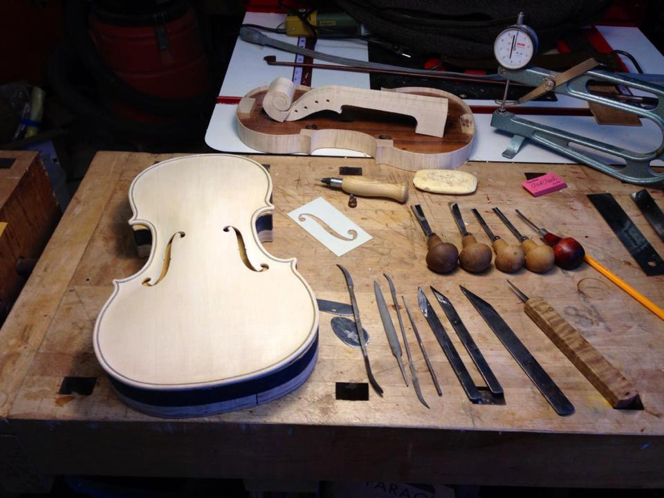 Violin Making – Rodger Stearns